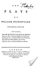 The Plays, Of William Shakespeare, in Eight Volumes, with the Corrections and Illustrations of Various Commentators; to which are Added Notes by Sam. Johnson