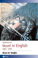 Reading the Novel in English 1950 – 2000