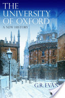 The University of Oxford, A New History