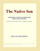 The Native Son (Webster's Chinese Simplified Thesaurus Edition)